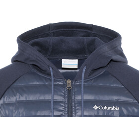Columbia Northern Comfor Capuchon Jas Heren, collegiate navy